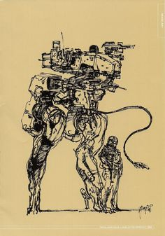 Image result for metal gear pen and ink