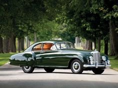1953 Bentley R-Type Continental Sports Saloon, by coachbuilder H.J. Mulliner & Co.