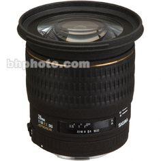 Sigma Super W/A 20mm f/1.8 EX Aspherical DG DF RF AF Lens 411101   B&H Photo Video