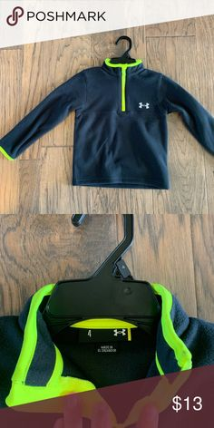 ce7358842 Boys Under Armour Hoodie Under Armour Hoodie in Neon Yellow with ...