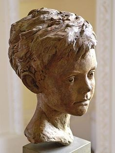 The Society of Portrait Sculptors, a representative body of professional sculptors committed to making portrait sculpture accessible to a wider public. Sculpture Head, Plaster Sculpture, Sculptures Céramiques, Pottery Sculpture, Pottery Angels, Ceramic Sculpture Figurative, Statues, Portrait Art, Oeuvre D'art