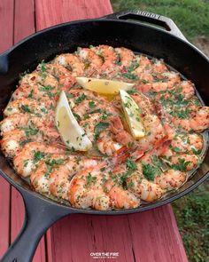 Shrimp Recipes For Dinner, Shrimp Recipes Easy, Seafood Dinner, Fish Recipes, Seafood Recipes, Appetizer Recipes, Healthy Recipes, Garlic Shrimp Recipes, Cooking Recipes For Dinner
