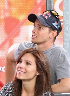 Casey Stoner and Adriana