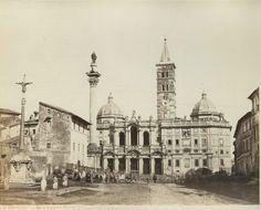 ROMA Santa Maria Maggiore 1870