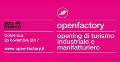 Save the date: Domenica prossima 26 Novembre porte aperte nella nostra sede di Marcon per l'appuntamento con Open Factory, il più importante opening di cultura industriale e manifatturiera delle Venezie! Iscrizioni su www.open-factory.it!