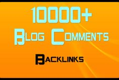 skyROCKET your website with 10000+ blog comments for $5