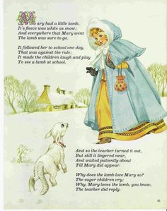 80s Wall Art Nursery Rhyme 1986 Paper by AnnesAccumulations, $10.00