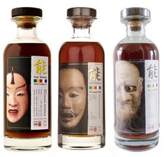 Japanese Noh Whisky - Art and design inspiration from around the world - CreativeRoots