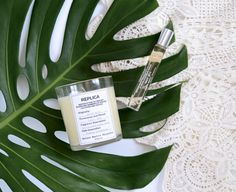Maison Margiela Replica Beach Walk   Rollerball Perfume and Home Scent Candle Review