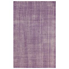 Lex Purple Hand Knotted Wool Rug