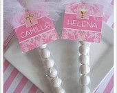 20  1st Holy Communion Favors for Girls bubble sticks. $24.00, via Etsy.