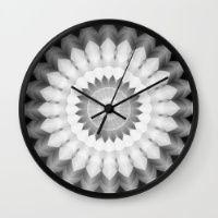 Blended Kaleidoscope Wall Clock