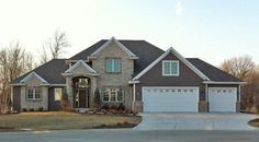 Gorgeous exterior! M. Gerhard home in Northeastern Wisconsin.