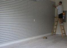 Slatwall Installation Instructions- How to cut, hang & install slatwall panels
