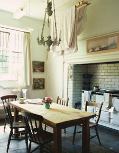 English Country House Kitchen