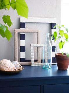 IKEA Österreich, Inspiration, Textilien, Bilderrahmen, Meterware BERTA RUTA