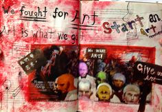 Altered Book #7 - Youth Art Month - room 416