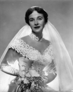 I am wearing my Grandmother's wedding dress, here she is in it in 1950.