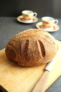 a simple wholemeal bread, quickly made