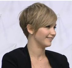 jennifer lawrence short haircut - the other side…