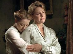 Felicity consoling her distraught mother (Road to Avonlea)