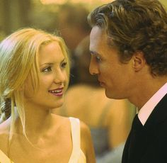 De meest sexy koppels op het witte doek KATE HUDSON AND MATTHEW MCCONAUGHEY IN HOW TO LOOSE A GUY IN 10 DAYS