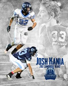 High School Poster Football Ads, Football Poses, Football Banquet, Football Pictures, Football Program, School Football, Football Info, Team Photos, Sports Photos