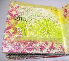 Paper Pumpkin: Live Each Day:: Journaling