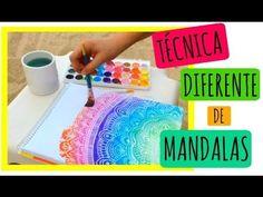 Acuarelas y Sal! | Zentangle Art - YouTube