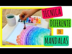 Mandalas diferentes ❤️ - YouTube