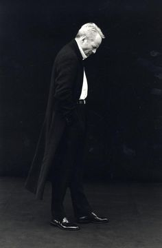 Peter Lindbergh, Bruce Willis for Donna Karan, FW 1996 Cool photographer!  -repinned by Southern California photographer http://LinneaLenkus.com