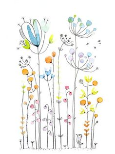 ♥ Lovely Pins Illustration ♥ // Cécile Hudrisier