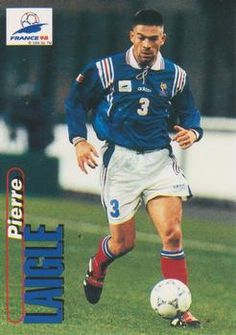 1998 Panini World Cup #29 Pierre Laigle  Front