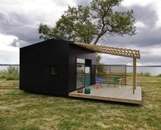 WAY COOL..!! Modern Prefab Micro Housing Concept: Mini House 2.0