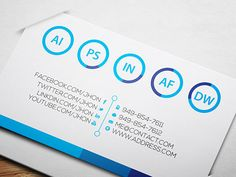 #Resume Style #Business #Card | Business Cards | The Design Inspiration