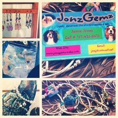 My niece Jenna made this collage of some of my things...:-)