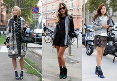 Streetstyle trend 2013: sokken in je pumps - Fashion - Styletoday.nl  Modetrends voorjaar zomer 2013 | modetrends, schoenentrends, haartrends, kapseltrends, tassentrends - Fashion - Styletoday