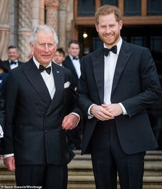 After stepping down, Prince Harry and Meghan Markle will no longer receive a royal allowance. However, it looks like they'll still be getting money from Harry's dad Prince Charles. Prince William And Kate, Prince Philip, Prince Harry And Meghan, Prince Charles, Madame Tussauds, Meghan Markle, Diana Statue, Buckingham Palace, Archie