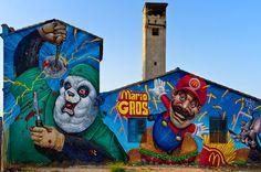 Beyond Banksy Project / Duke 103. Thanks to Distorsión Urbana!