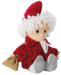 Sandmännchen Puppe, rot , 15 cm - für einen erholsamen Schlaf!