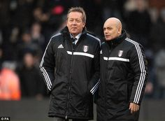 Technical Director Alan Curbishley and assistant head coach Ray Wilkins