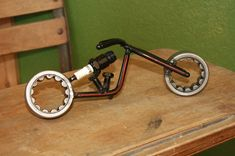 Metal Art Motorcycle Chopper by ReclaimArtDesigns on Etsy, $50.00 @Melissa Squires Dalton Wright @Kenny Chang Chang Wright