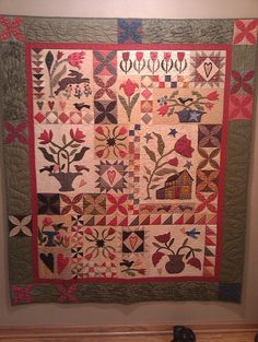 Tulip Farm  pattern by Blackbird Designs - I've always wanted to do this one. I have the patterns, just need to do it.