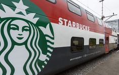 Starbucks unveiled its first location on wheels on the SBB train line running from Geneva to St. Gallen in Switzerland.