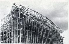 Santa María de Ronchamp, obra del arquitecto Le Corbusier, años 50