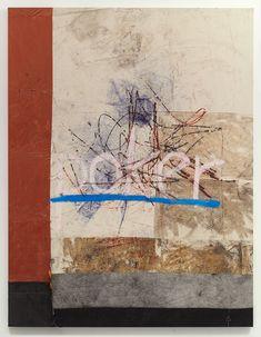 Oscar Murillo - poker 2013, Oil paint, oil stick, dirt, 250 x 195 cm