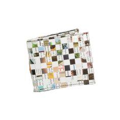 Torrain Men's Wallet - Checkered Magazine Recycled Magazines, Recycled Materials, Artisan, Wallet, Cards, Shopping, Handmade Purses, Map, Purses
