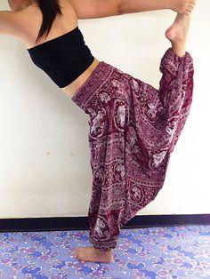 Thai Women Harem Pants Yoga Pants Aladdin Pants by NaughtyGirlShop, $16.99