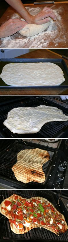#CreateFearlessly - Grilled Pizzas on the indoor grill