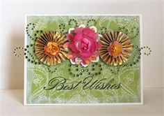 Best Wishes card by @Windy Robinson featuring Zva Creative.